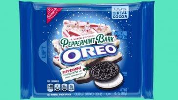 Peppermint Bark Oreos 364x205 - The limited edition Peppermint Bark Oreos are back on shelves