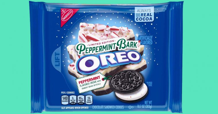The limited edition Peppermint Bark Oreos are back on shelves 13