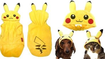 This Pokemon pet clothing line will instantly make your dogs and cats look extra adorable 21