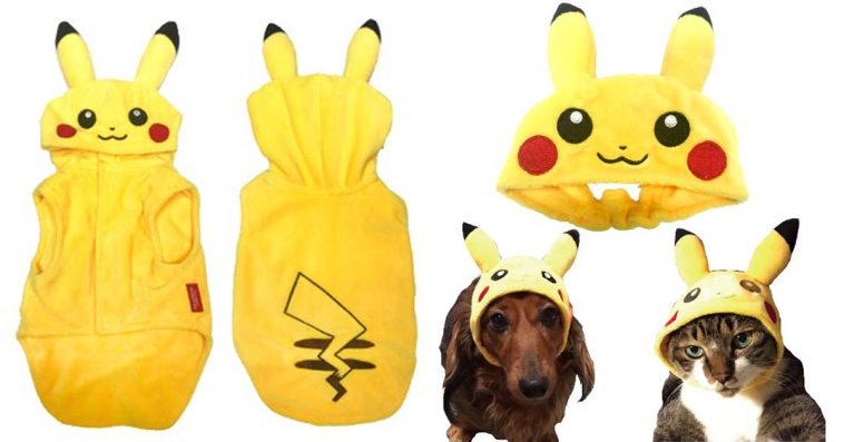 This Pokemon pet clothing line will instantly make your dogs and cats look extra adorable 12