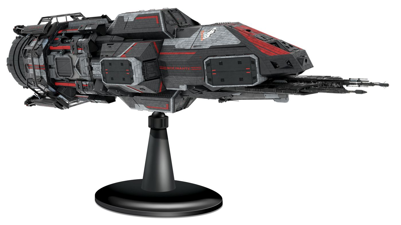 The Expanse fans can soon purchase a $199 collectible model of the Rocinante ship 14