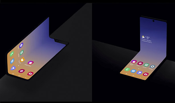 Samsung feature - Samsung teases a clamshell foldable smartphone
