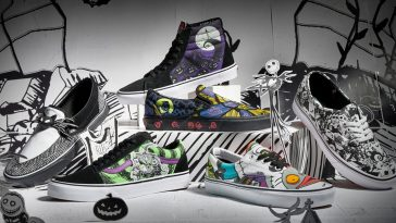 Disney and Vans' The Nightmare Before Christmas shoe collection is spooky cool 21