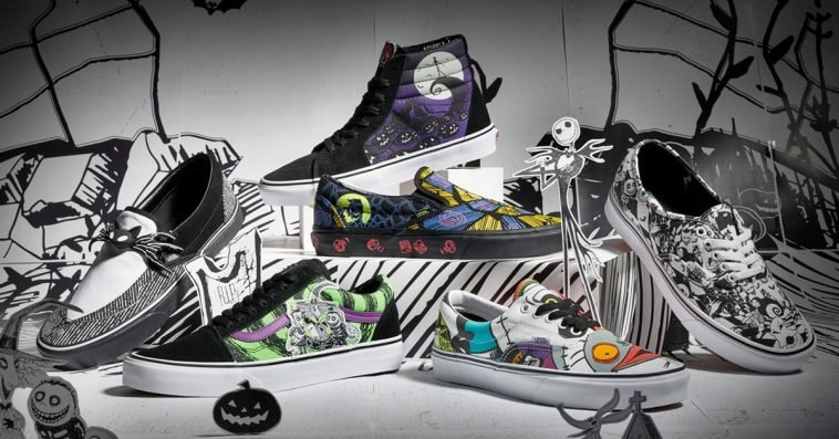 Disney and Vans' The Nightmare Before Christmas shoe collection is spooky cool 12