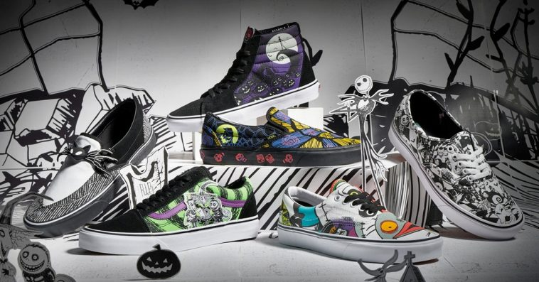 Disney and Vans' The Nightmare Before Christmas shoe collection is spooky cool 14