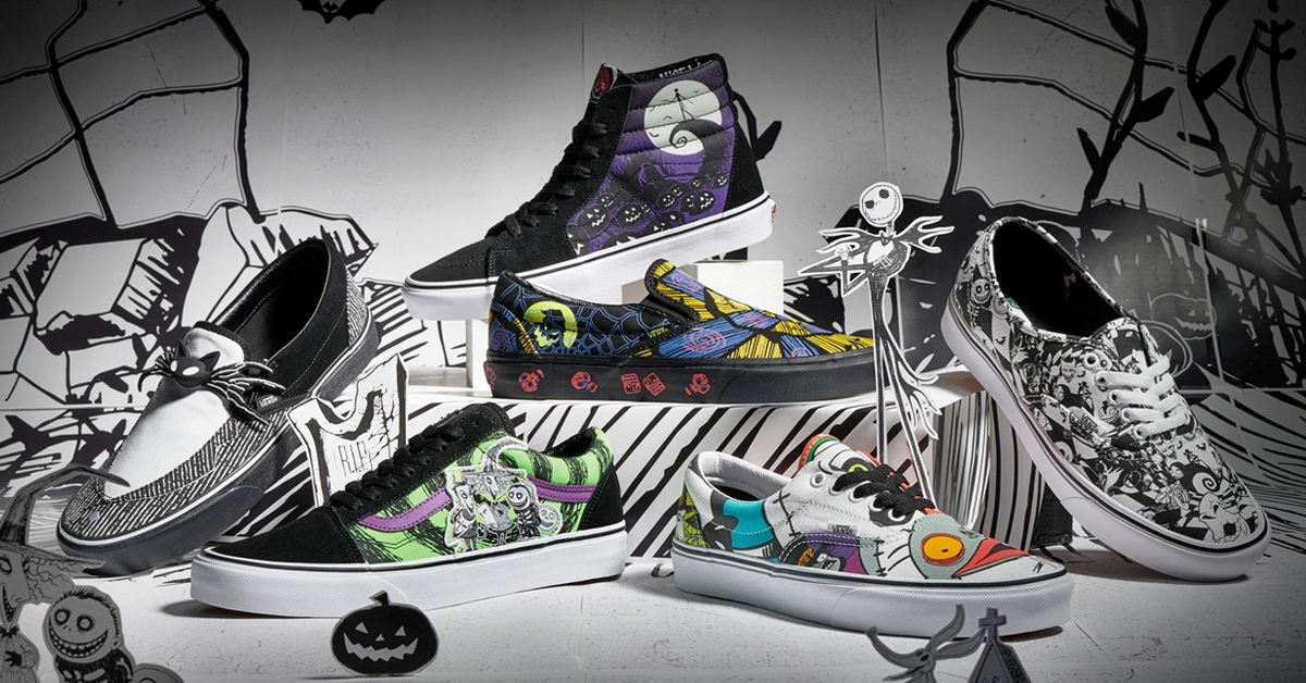 Vans Christmas Shoes 2020 Disney and Vans' The Nightmare Before Christmas shoe collection is
