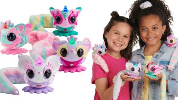 WowWee's Pixie Belles are interactive toy pets that spin, dance & kiss you on the cheek 12