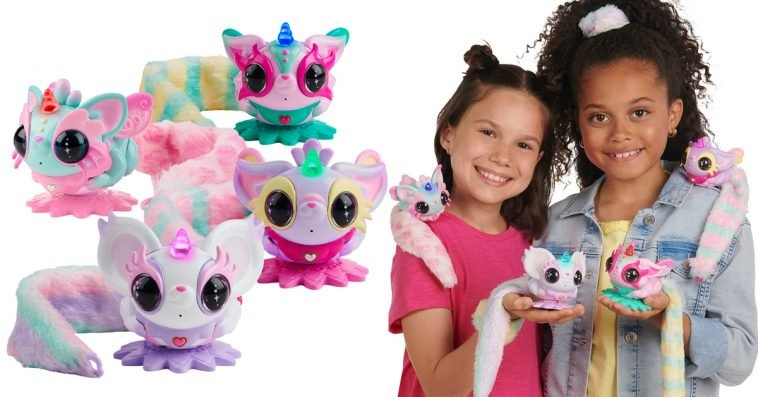 WowWee's Pixie Belles are interactive toy pets that spin, dance & kiss you on the cheek 10