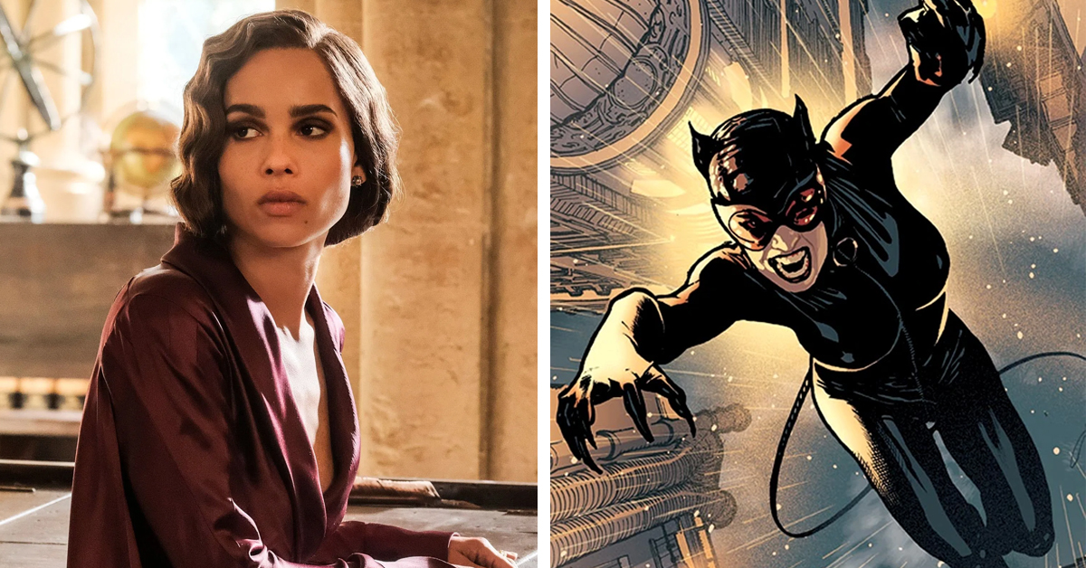 Zoe Kravitz and Catwoman 758x397 - Zoe Kravitz will play Catwoman in Matt Reeves' The Batman