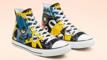 Holy smokes! Converse has a new line of Batman-themed shoes 13
