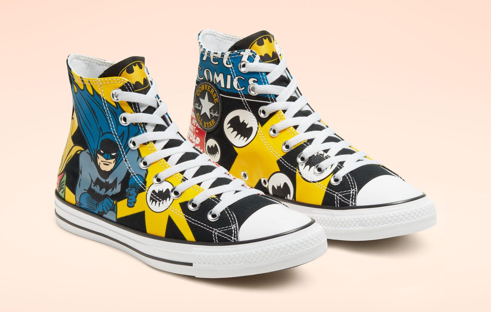 batman converse e1571776228700 150x150 - Holy smokes! Converse has a new line of Batman-themed shoes