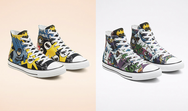 Holy smokes! Converse has a new line of Batman-themed shoes 14