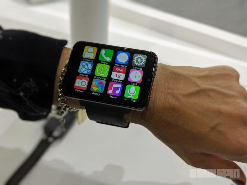 This smartwatch is literally a smartphone on your wrist 14