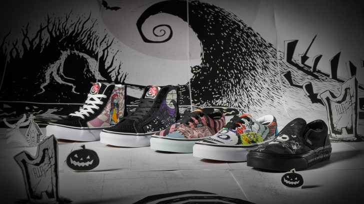Disney and Vans' The Nightmare Before Christmas shoe collection is spooky cool 15