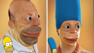 realistic characters nightmare 364x205 - 30 realistic portrayals of cartoon characters that will give you nightmares