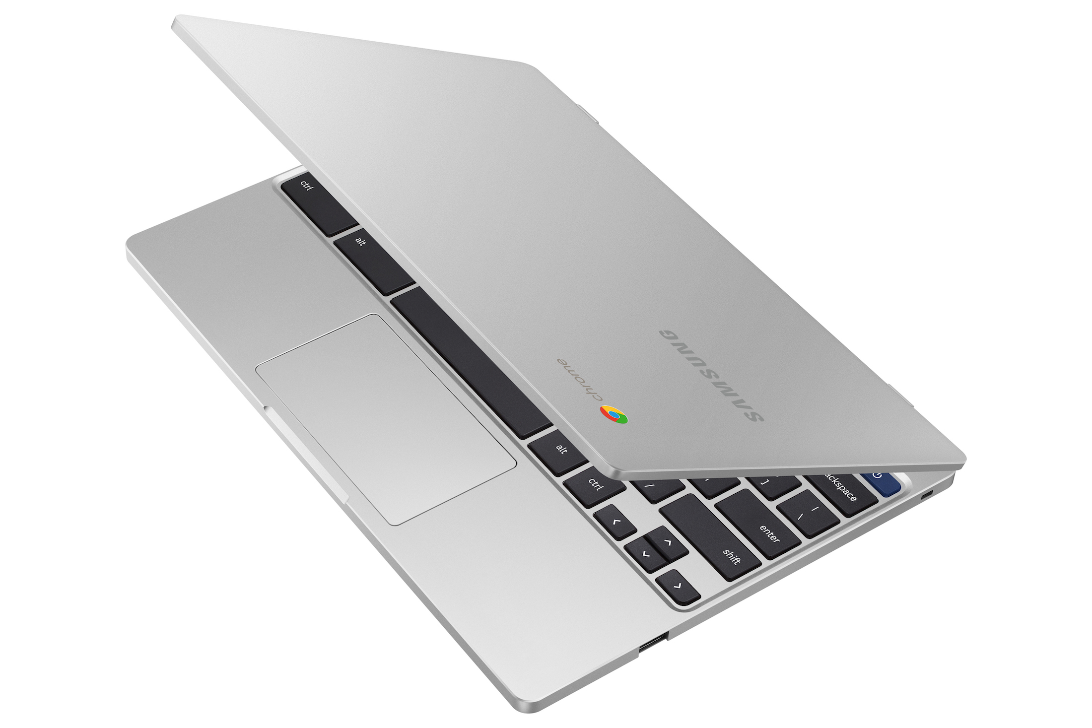 samsung chromebook 4 half open 364x205 - Samsung's latest Chromebook 4 and 4+ are pretty good deals