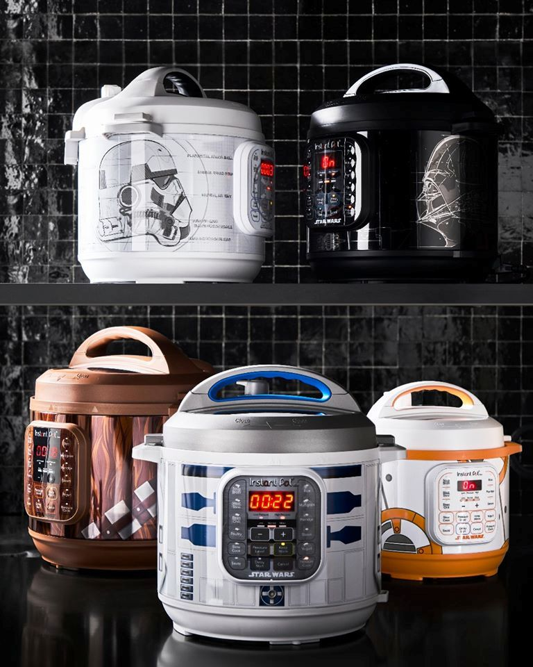 Williams Sonoma's Star Wars Instant Pots are inspired by Darth Vader, BB-8, and more 14