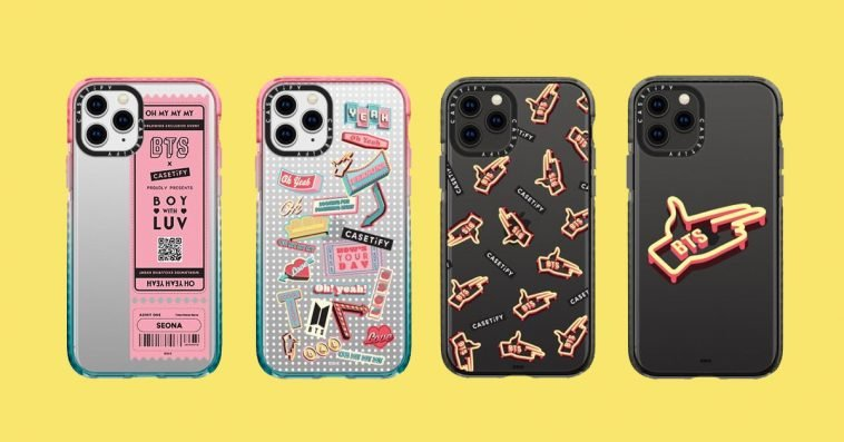 The BTS x Casetify collection will be available globally this November 12