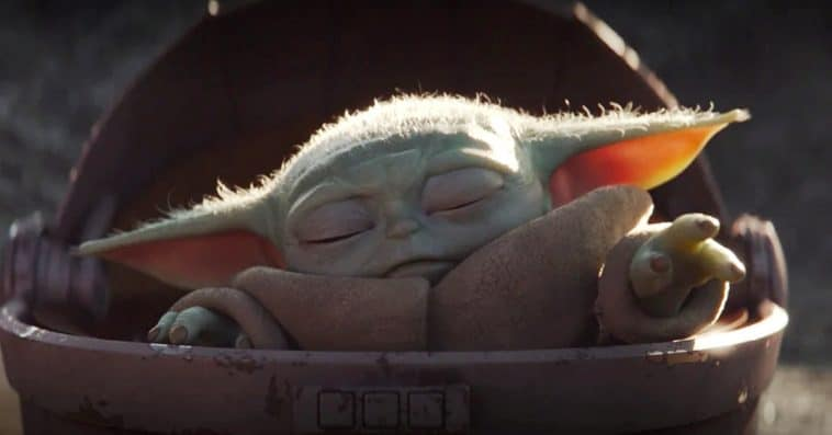 The Mandalorian's 'Baby Yoda' has won the hearts of Star Wars fans 12