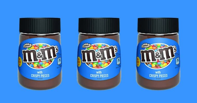 Crispy M&M's Spread is now available in the U.S. via Amazon 13