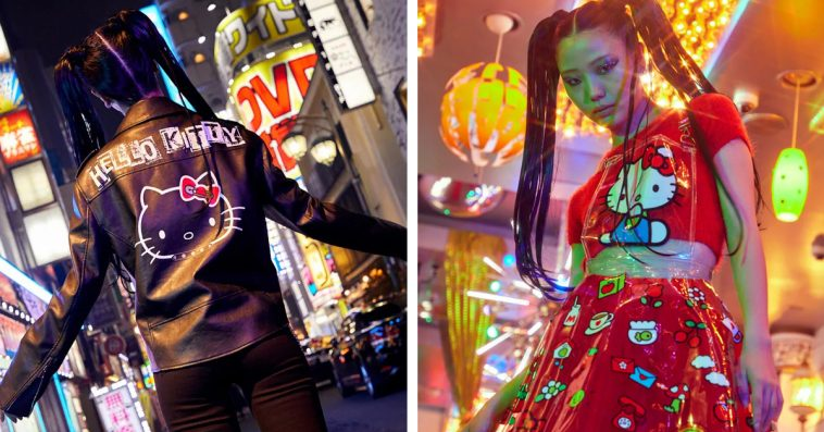 Hello Kitty and Dolls Kill team up for a cute and feisty punk-themed clothing collection 10