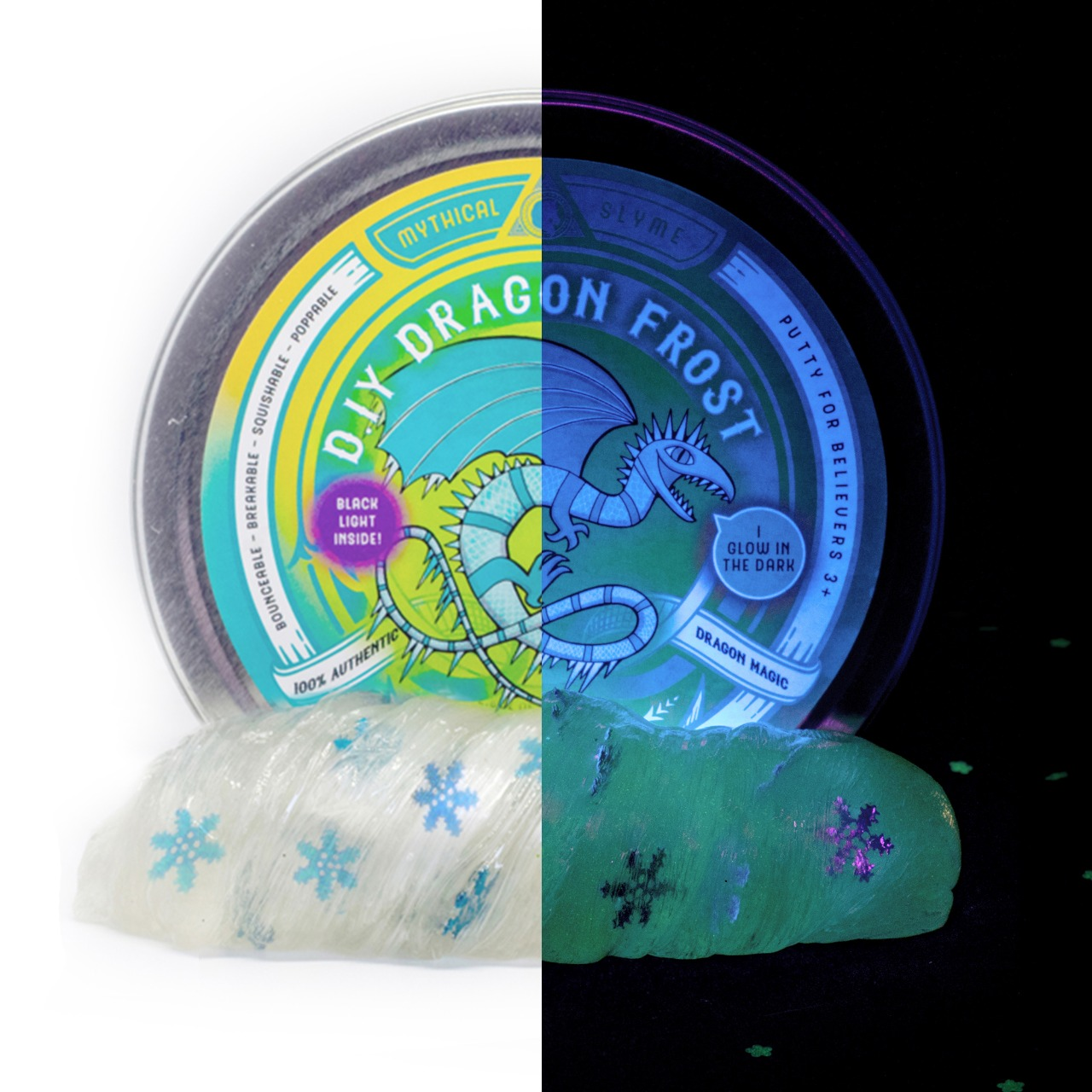 Mythical Slyme unveils DIY glow-in-the-dark putty kits 15