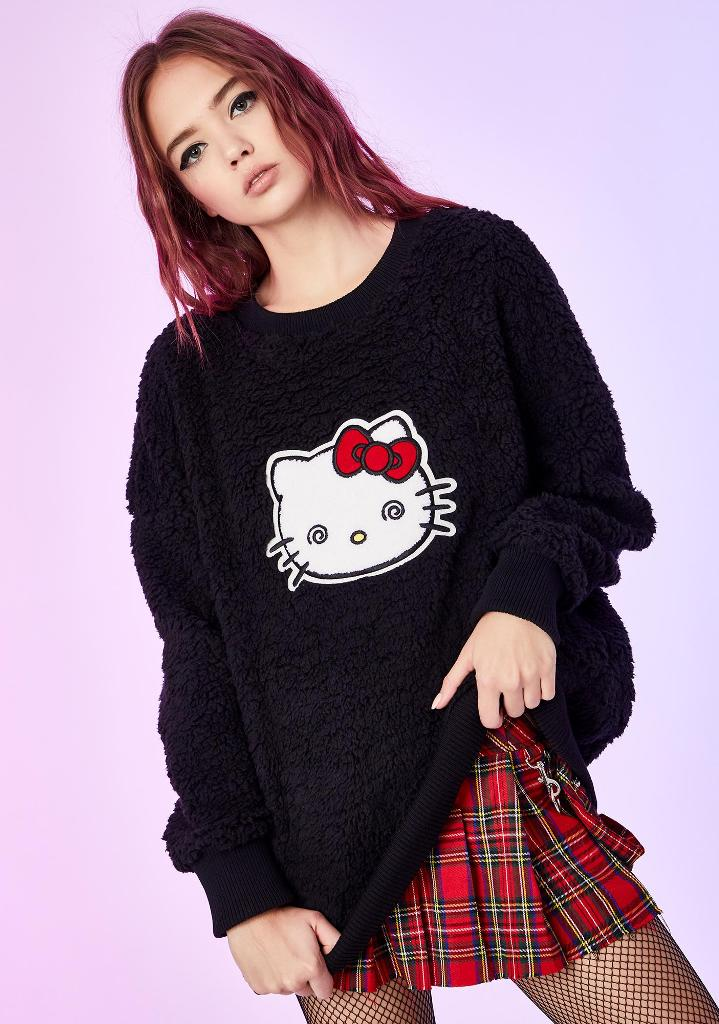 Hello Kitty and Dolls Kill team up for a cute and feisty punk-themed clothing collection 12