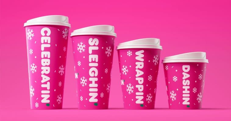 Dunkin' introduces 4 holiday-flavored Signature Lattes 12