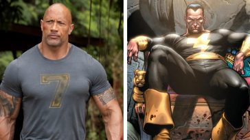 Black Adam movie starring Dwayne Johnson gets a release date and concept art 14