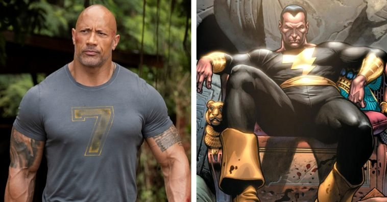 Black Adam movie starring Dwayne Johnson gets a release date and concept art 13