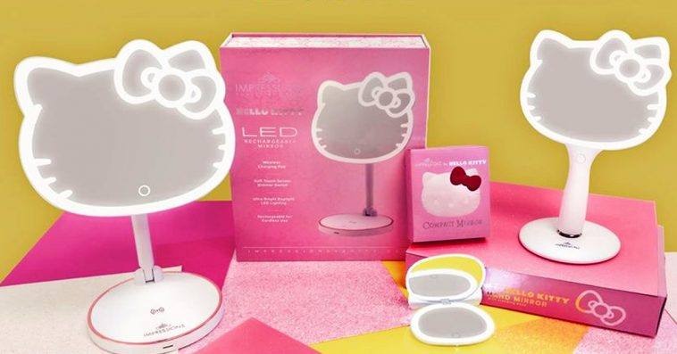 Hello Kitty and Impressions Vanity reunite for a new collection of makeup mirrors 10