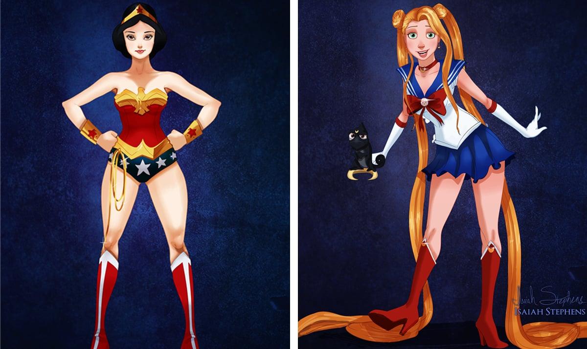 If Disney Princesses were superheroes - featured image