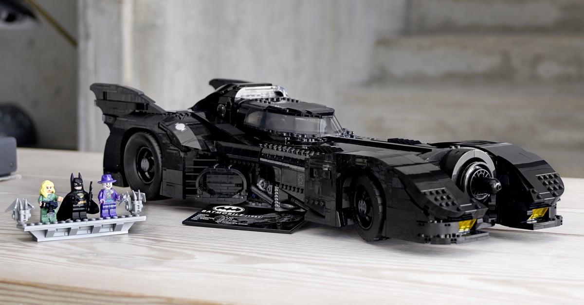 LEGO 1989 Batmobile 758x397 - Batman's 1989 Batmobile gets a stunning LEGO replica
