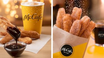 McDonald's donut sticks are back with a new chocolate dipping sauce 15