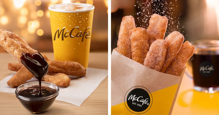 McDonald's donut sticks are back with a new chocolate dipping sauce 10