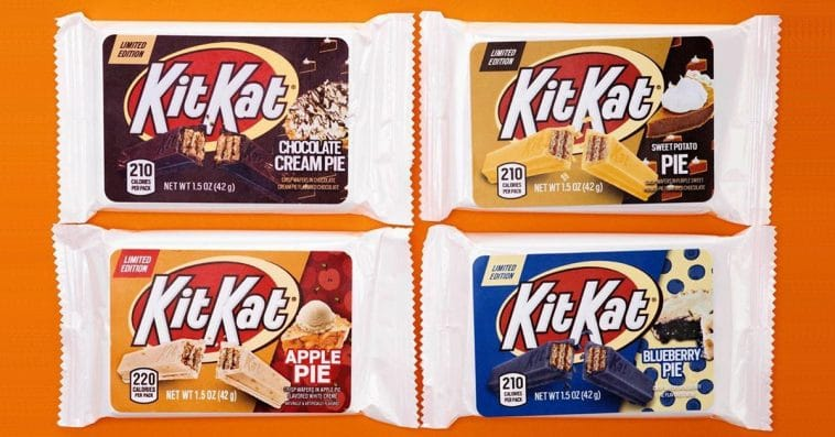 Kit Kat is releasing 8 new flavors in 2020, including Birthday Cake and Apple Pie 12