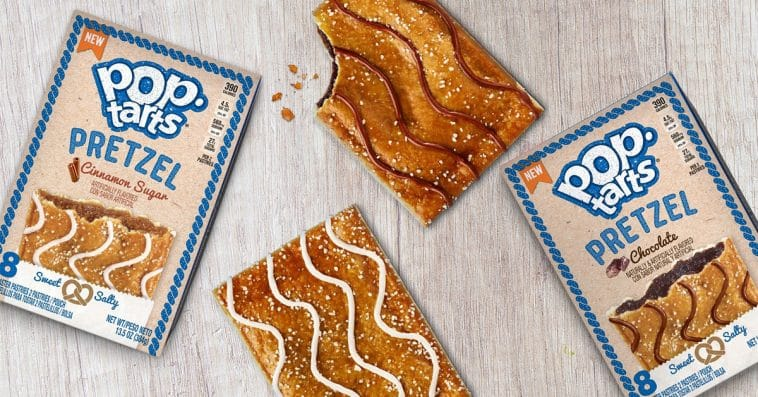 Pretzel Pop-Tarts will satisfy your sweet and salty cravings this January 19