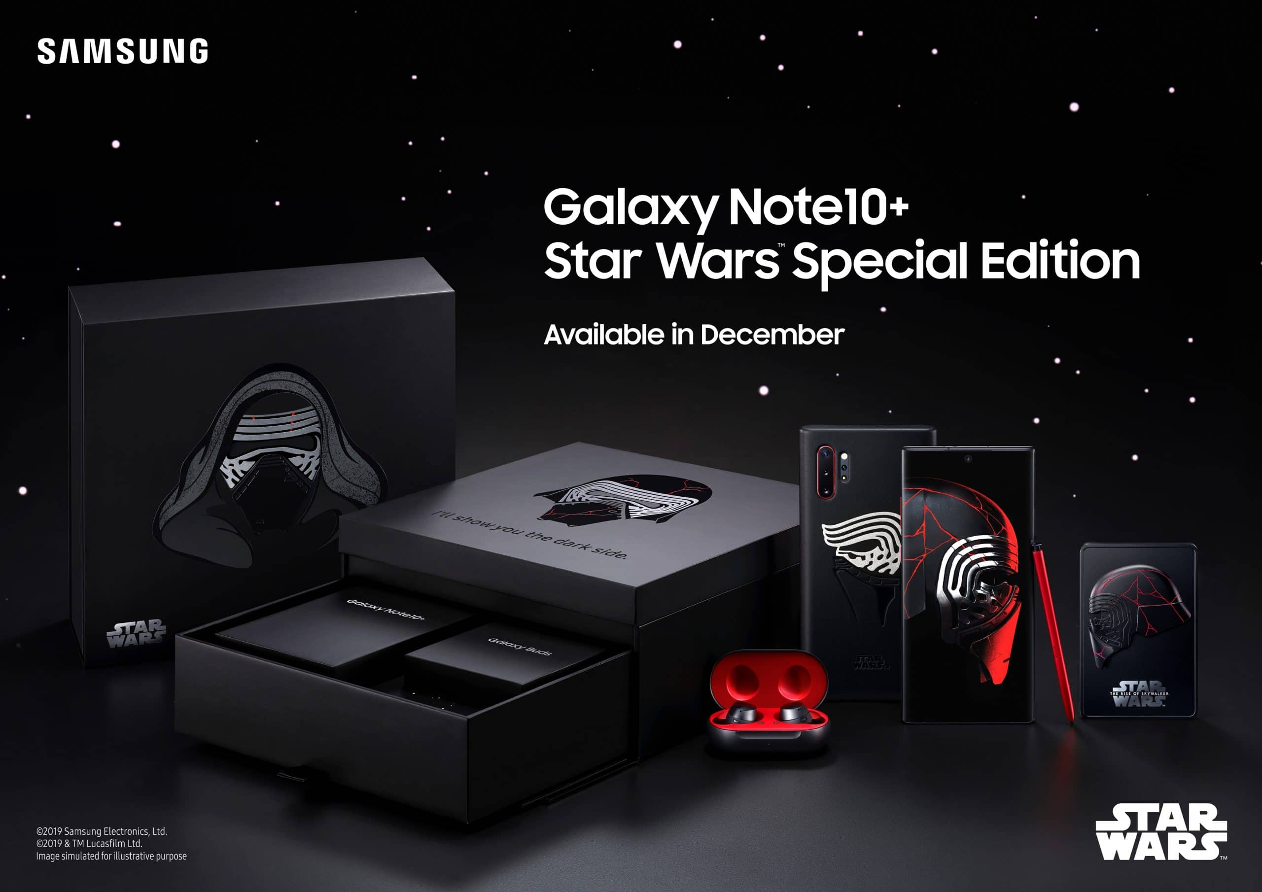 Samsung announces limited edition Star Wars Galaxy Note10+ 12