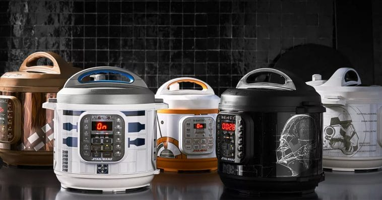 Williams Sonoma's Star Wars Instant Pots are inspired by Darth Vader, BB-8, and more 13