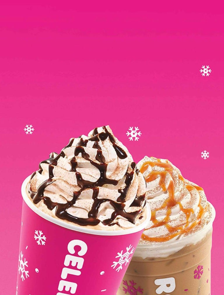 Dunkin' introduces 4 holiday-flavored Signature Lattes 13