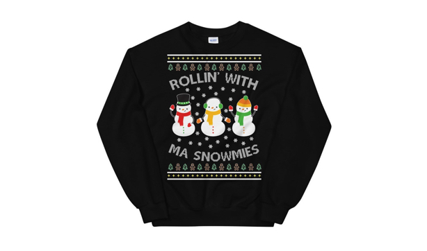 Extremely geeky ugly Christmas sweaters 16