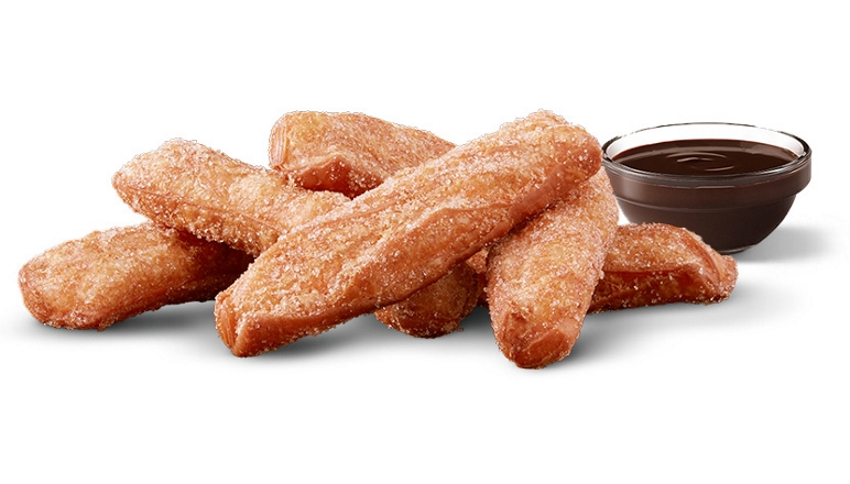 McDonald's donut sticks are back with a new chocolate dipping sauce 14