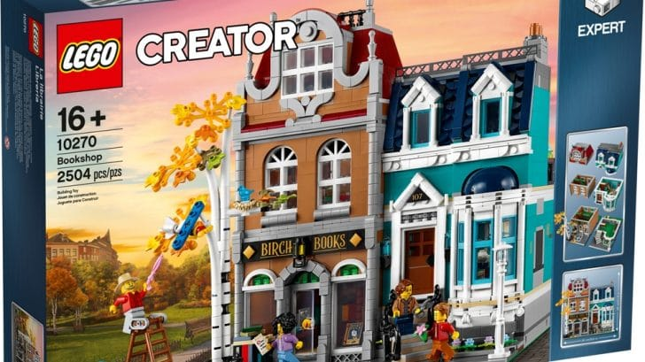 This LEGO bookshop and town house set is inspired by the quaint houses of Amsterdam 11