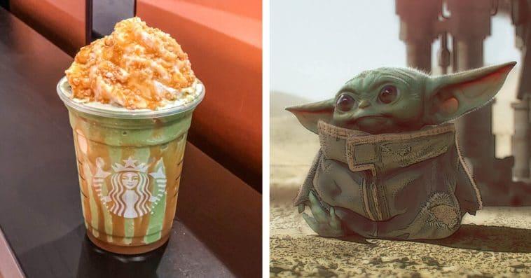 Baby Yoda Frappuccino is the newest Disney-inspired Starbucks secret menu drink 12