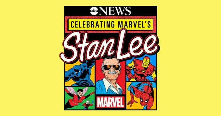 Celebrating Marvel's Stan Lee primetime special will air this December on ABC 13