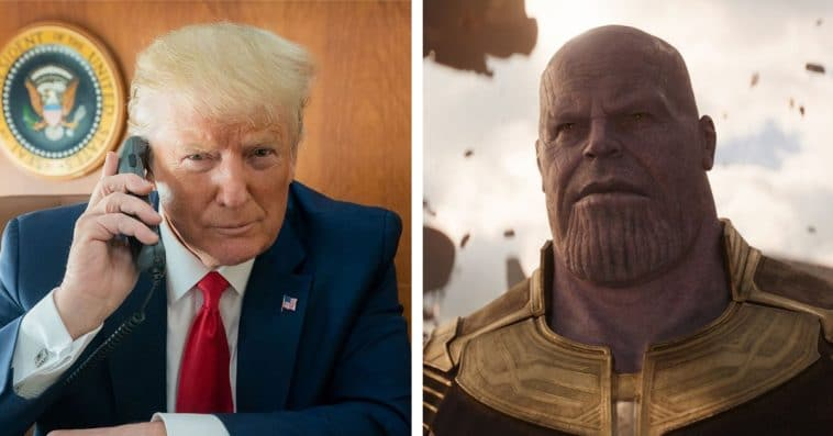 Trump's team compares the president to Thanos in a new campaign video 13