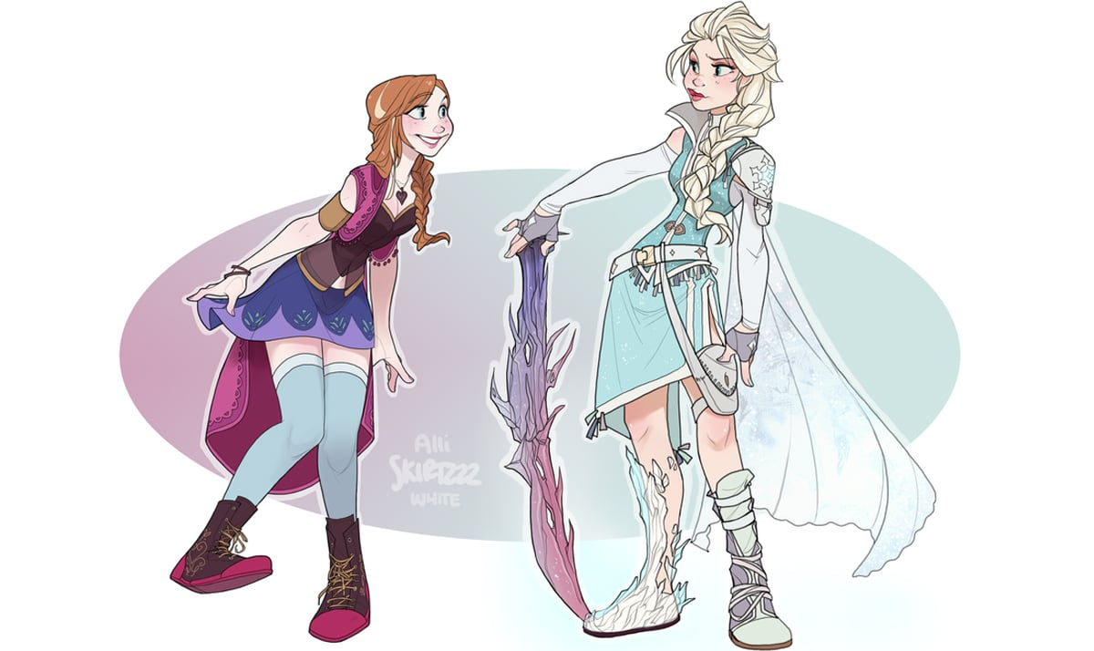What if Frozen crossed over with Star Wars, Harry Potter, and other franchises? 20