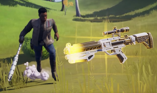 Fortnite now has lightsabers and a TIE fighter 14
