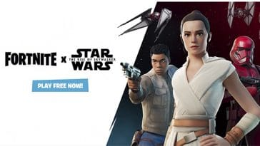 Fortnite now has lightsabers and a TIE fighter 22
