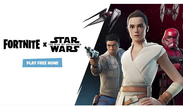 Fortnite now has lightsabers and a TIE fighter 12